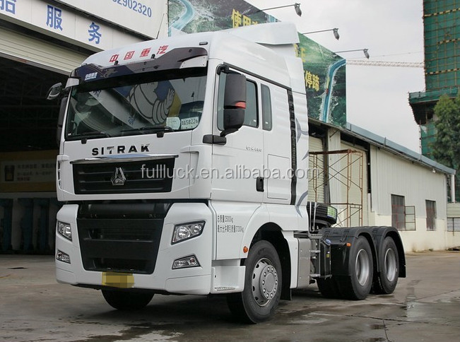 New face quick delivery 6*2 480hp Heavy duty SINOTRUK HOWO TRACTOR TRUCK HEAD
