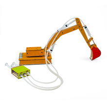 Pneumatic and Hydraulic Force Excavator Experiments Kids Science Kit