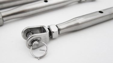 Supply Stainless Steel Jaw and Jaw Construction Turnbuckle With Nut, Open Body Turnbuckle M16