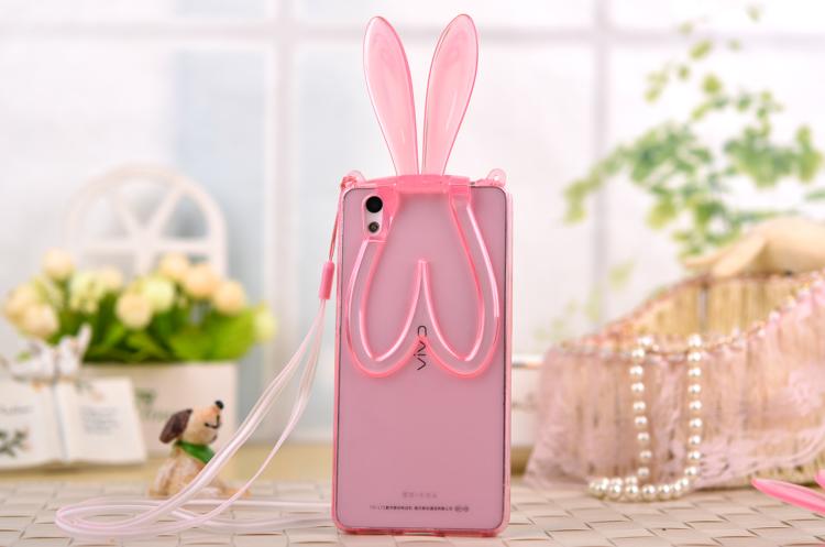 Rabbit Ear Holder Tpu Soft Phone Cover For Vivo Y21 Y51y15 - Buy Case Cover  For Vivo Y21,Cover Case For Vivo Y15,Phone Cover For Vivo Y21 Y51 Product