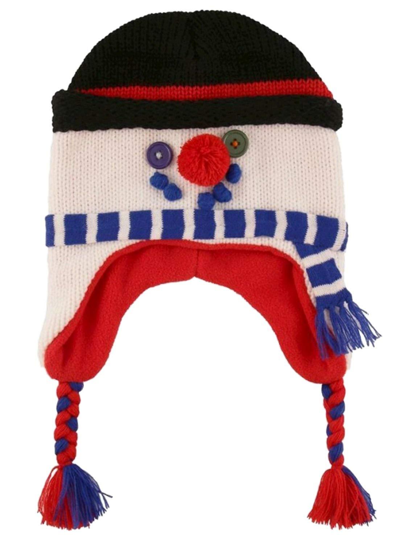 48ffbcb7ac9d1 Buy ABC Boys Gray Knit Peruvian Skeleton Trapper Hat aviator in ...
