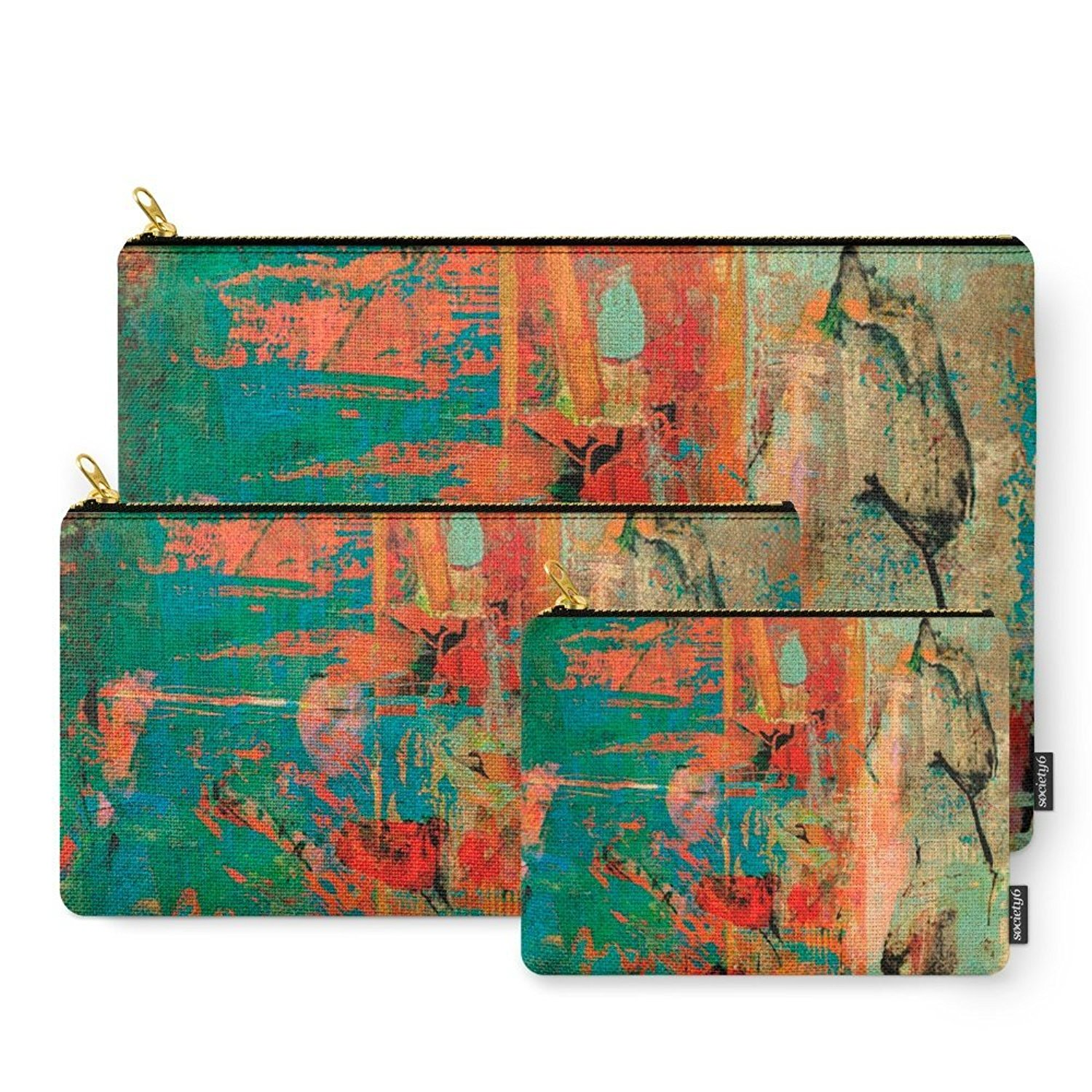 Society6 Trojan Horse Carry-All Pouch
