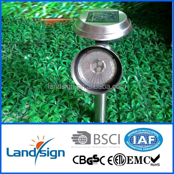 China oem manufactures led garden lights solar light panel for garden/pathway/outdoor use high power solar spotlight