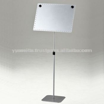 High Quality Japan Supply Extendable A3 or A4 Standing Sign Holder