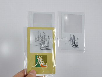 card magnifying glass business cards plastic pvc magnifying glass