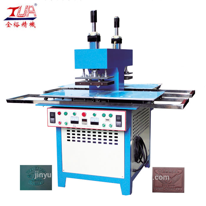 Semi-automatic embossing machine for t-shirts