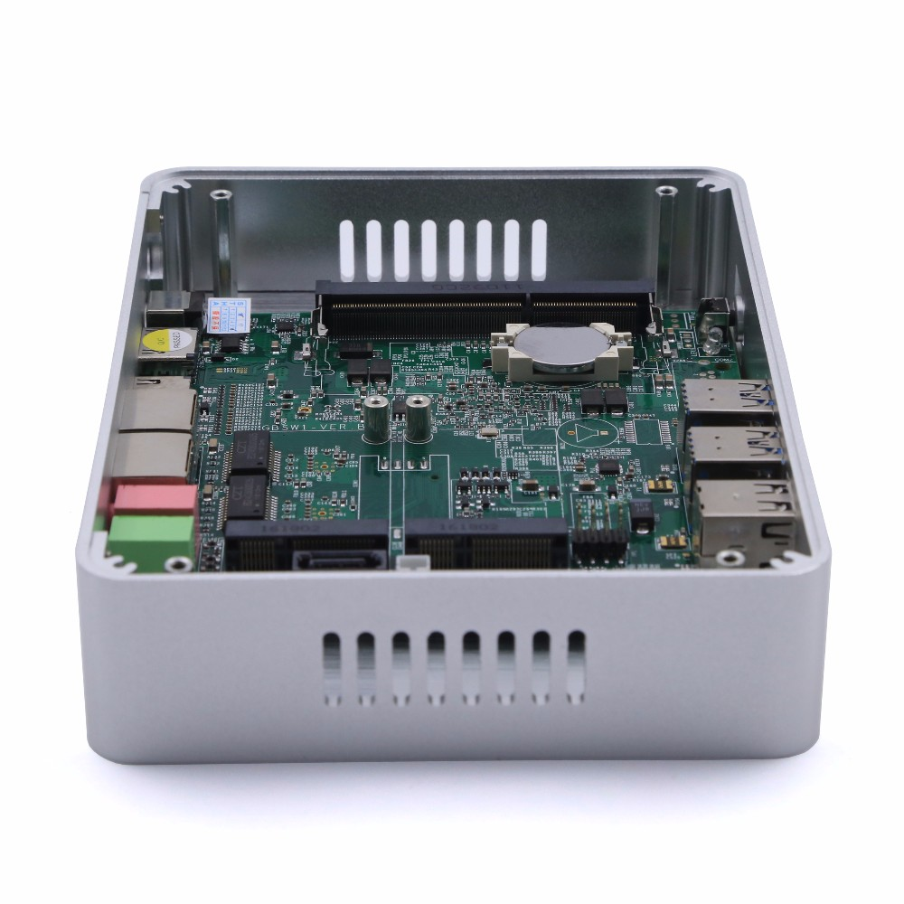 Hystou Intel NUC N3150 Barebone 2 Ethernet Mini PC Pfsense VPN Firewall Router