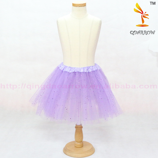 Wholesale Child Clothes Girls Party tutu For Kids With Glitter