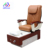 2017 used luxury salon furniture wood base pedicure spa chair 2013 s816-2