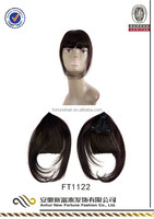 100% Indian human hair bang , head pieces, hair pieces