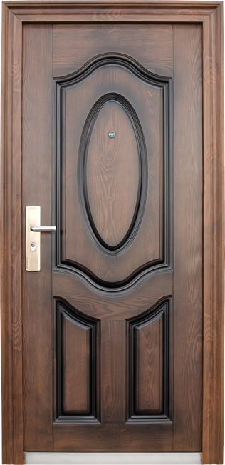 Nigeria Exteriror Entrance Ornamental Iron Door