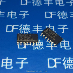 New and original IC 74HCT393 74HCT393D SOP-14 Dual 4-bit binary ripple counter
