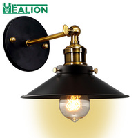Adjusted E27 Edison antique loft industrial Wall Sconce lamps swing arm vintage wall light lamp for Cafe and Club