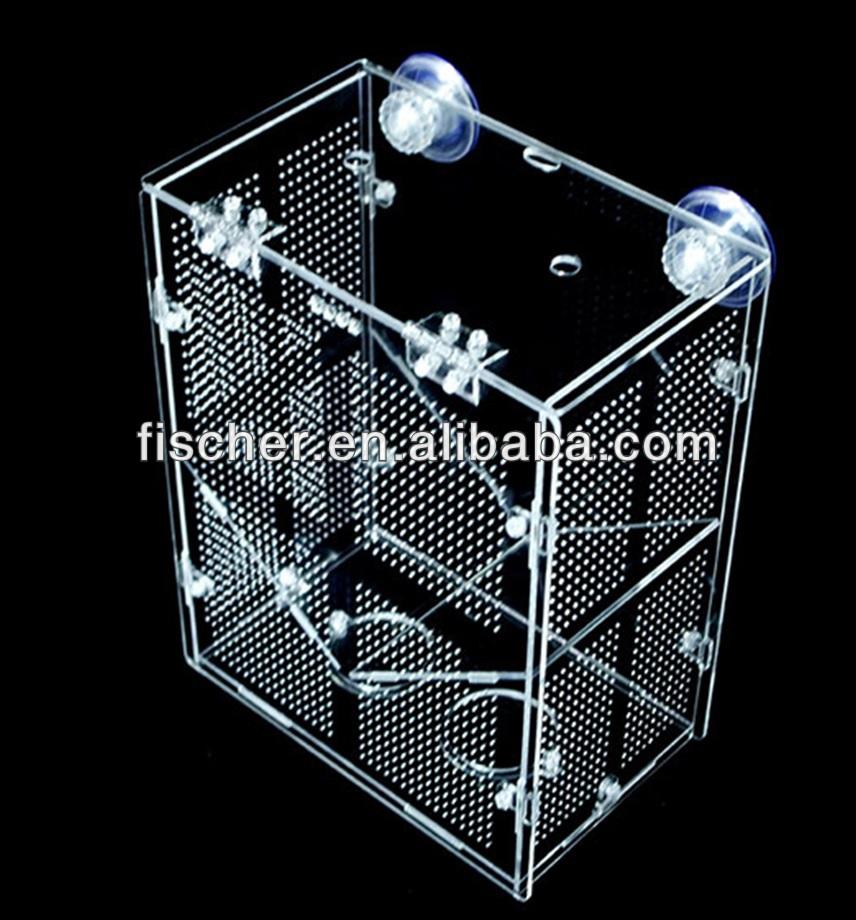 Hoogwaardig acryl fokken isolatie box aquarium alle - Isolatie grot enterree ...