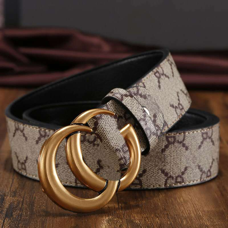 New arrival Luxury Leather Belt Brand  woman Good Quality