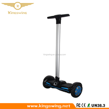 Factory Best Quality 8 inch Big wheels Standing self-balancing smart scooter two wheel electric skateboard with handrail