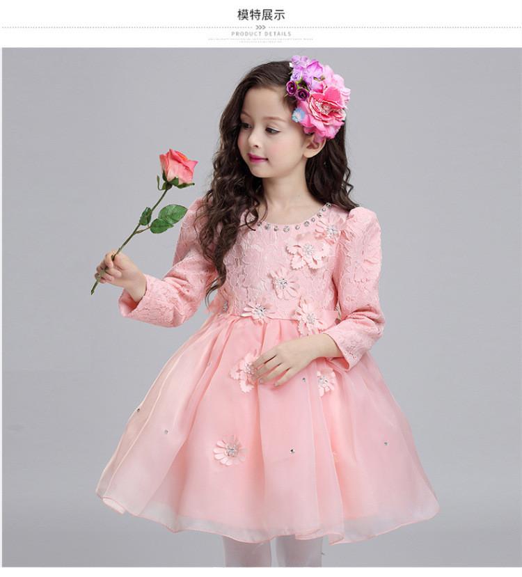 Venta al por mayor vestidos elegantes para niña de 2 años-Compre ...