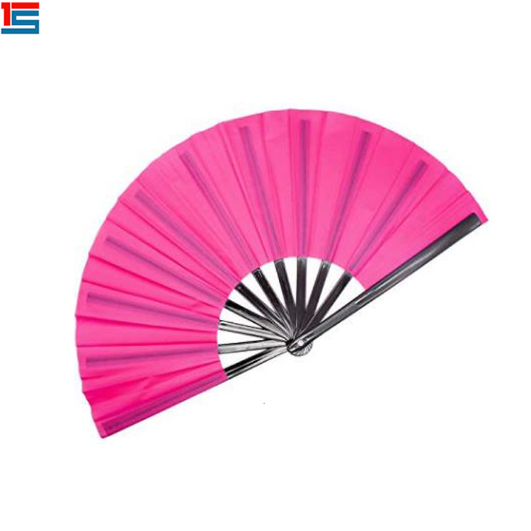 China maker afrikaanse mini plastic folding hand fan
