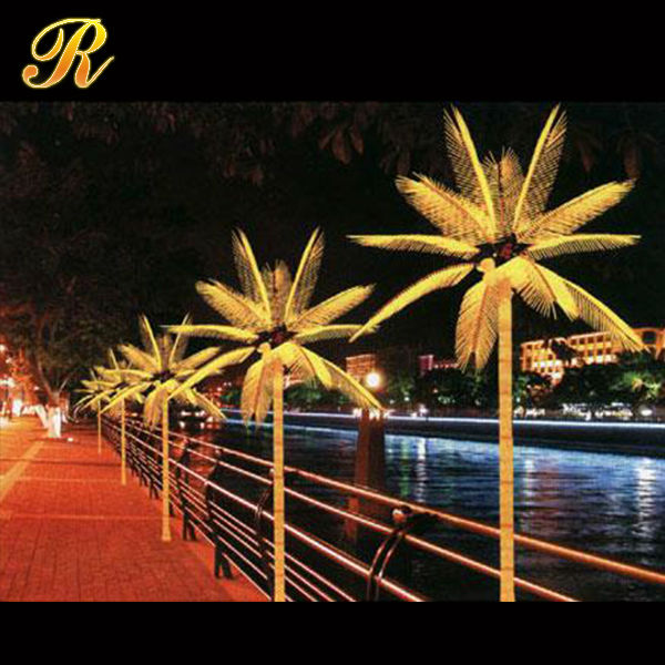 Unique Streets Lighting Decorative Artificial Led Palm Trees ...