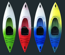 Single boat cheap plastic canoe kayak with prices cool kayak brands