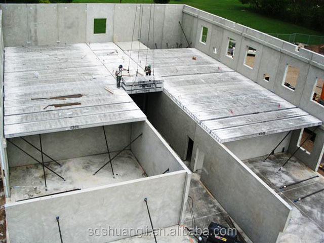 Precast Concrete Forms For Sale: Best Performance Sand Sandwich Board/light Weight