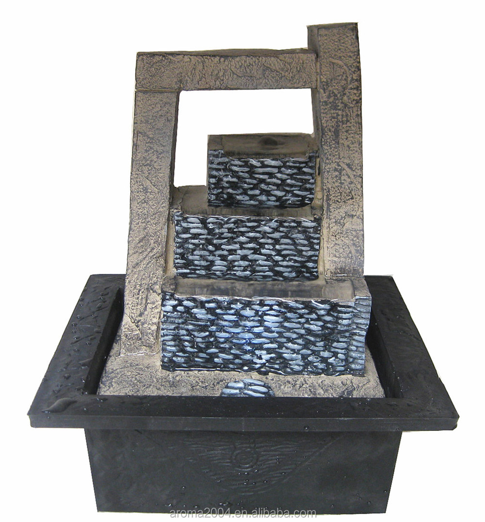 table water fountain abstract sculpture modern art home decor  - table water fountain abstract sculpture modern art home decor