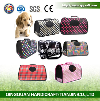 Hot Foldable Pu Pet Travel Bags Whole Waterproof Carry