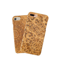 Natural Customized wooden cases for iphone 6,Wood Cork phone case,mobile phone accessories