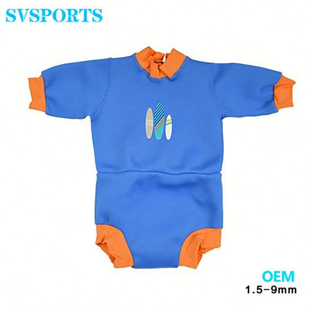 a060b01d43 Wholesale new design kids wetsuit short baby swimming suit baby uv  protective UPF 50 child swimwear
