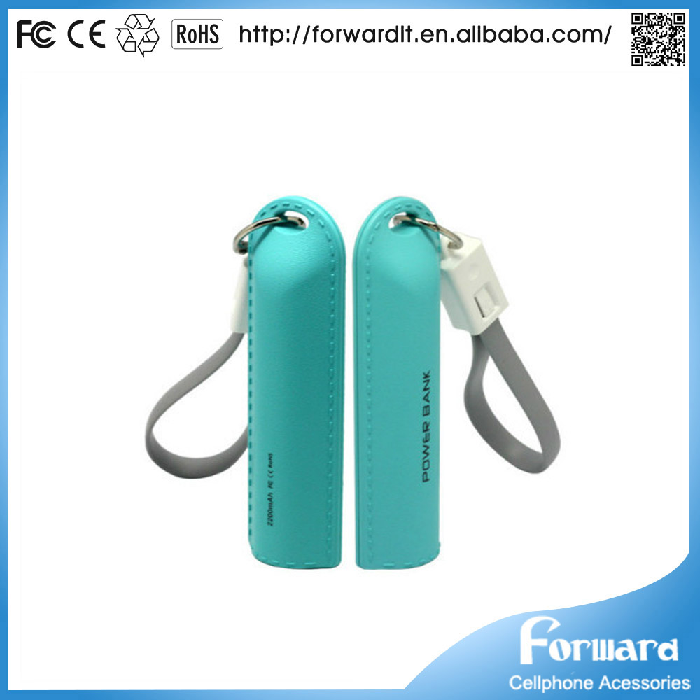 portable mobile phone charger,lipstick power banks, 3000mAh mini travel charger