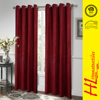 OKTEX 100 approved traditional style hotel window curtain