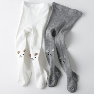 Wholesale fashional cotton cartoon leggings baby sock