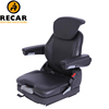 Extra soft forklift seats provides comfort to the forklift operators
