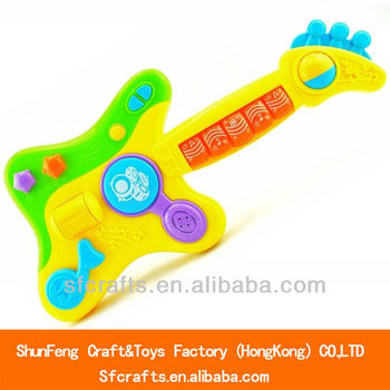 Multi-function electric guitar toys