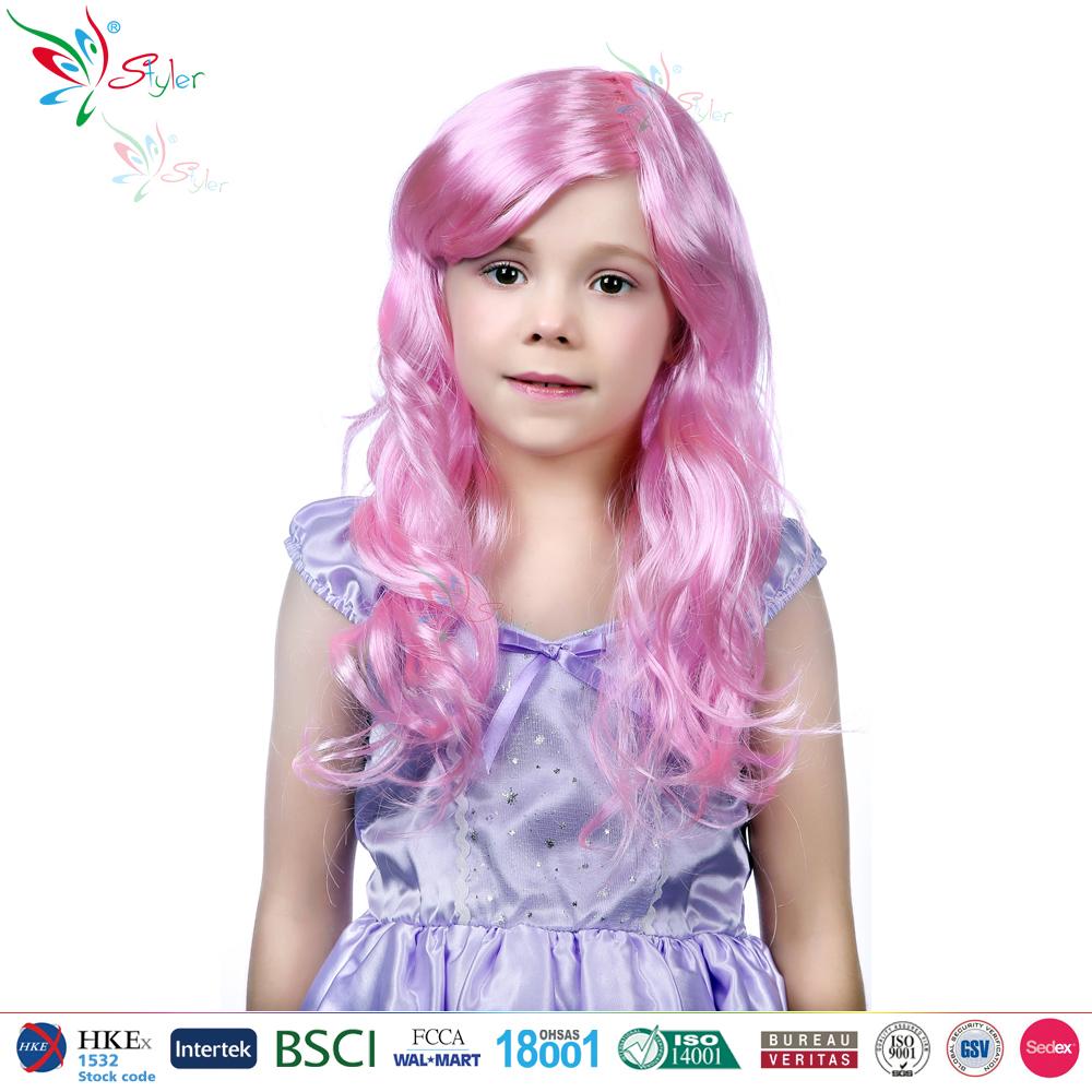 enfants halloween carnaval perruques synthtiques color pas cher enfants partie perruque - Perruque Colore