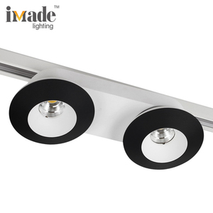 Natural Color Aluminum body High Power 30W COB Led Track Light with Black white silver Track Light for Housing
