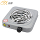 JX-6122B Easily Assembled Kitchen Appliance 1000W Widely Used Hot Sales DC Electric Stove