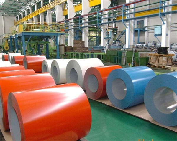 factory color coated galvalume steel sheet prepainted galvanized coil product line