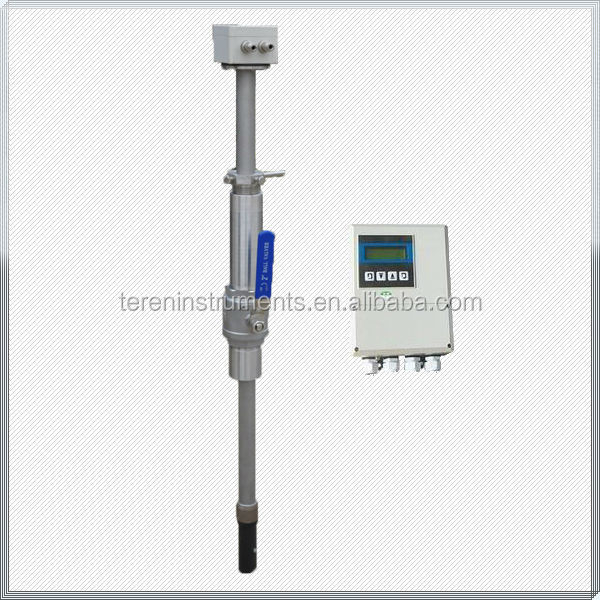 Magnetic Insertion type 4-20mA output electronic Electromagnetic water flow sensor
