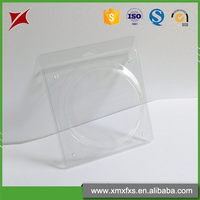 Popular transparent plastic pvc disposable tray blister packing