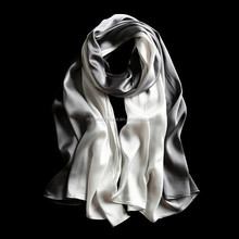 Women silk hijab fashion long shawls custom satin scarves
