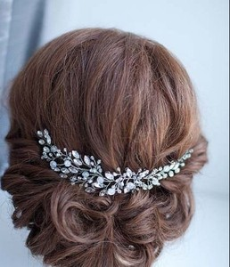 Wholesale bridal hair accessories wedding head piece bridal head piece fashion jewelry 2017