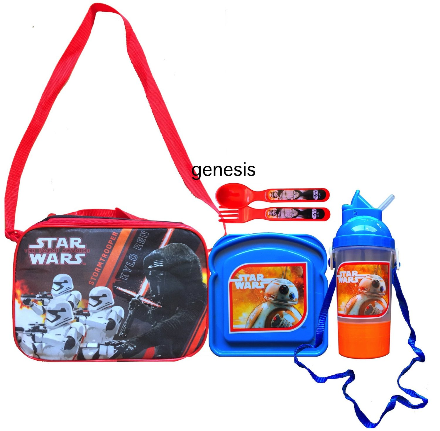 9e06e09a8b93 Buy Children's Insulated Kylo Ren Lunch Bag Star Wars The Force ...