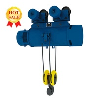 Easy Maintenance Best Standard OEM 220v Mini Wire Rope Electric Hoist With Excellent Quality