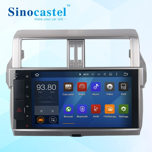 "10.1""Prado car gps navigation in dash android dvd"