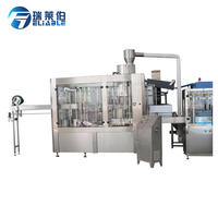 Full automatic plastic bottle mineral water filling plant machinery cost