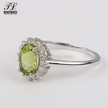 New Arrival green beryl gem silver jewelry 5925 silver ring diamond,buy+jewelry+in+china