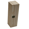 Hot selling natural wood box for wine glasses storage