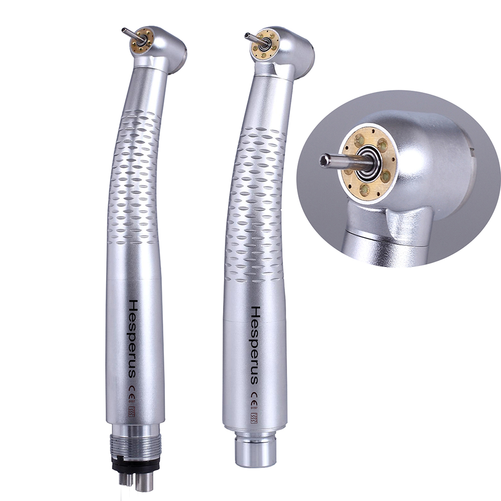 New! 5 leds and 5 sprays dental led turbine high speed handpiece