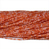 Natural Agate Beads 2mm 3mm 4mm Red Agate Beads 3mm Round Gemstone